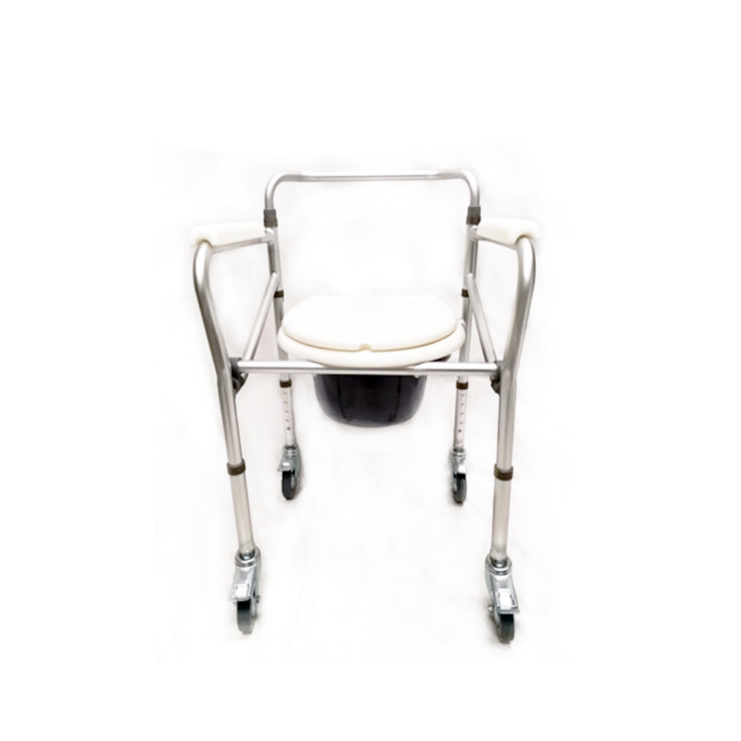 *Pre-order* Aluminium Foldable Commode Mobile BT1053
