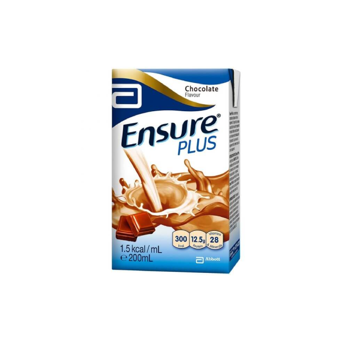 Ensure Plus Chocolate 200ml x 27s/Ctn - S$65.00
