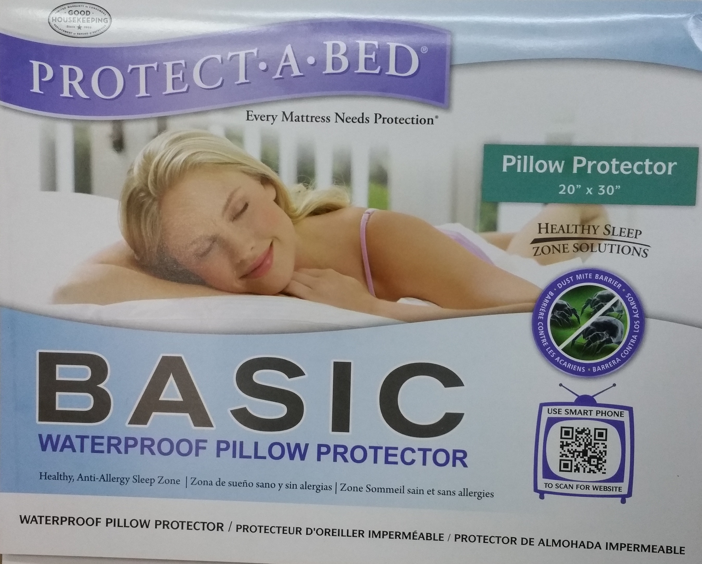 Protect A Bed - Basic Protector - Type (Queen Mattress ...