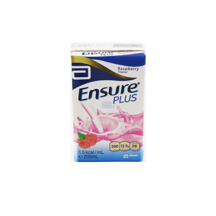 Ensure Plus Raspberry 200ml x 27s/Ctn - S$65.00