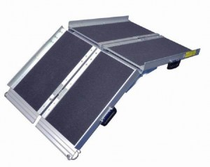 607T wheelchair ramp trifold