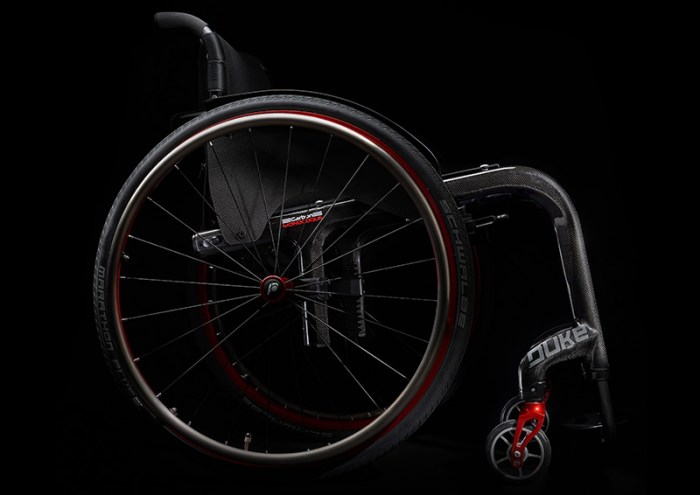 DUKE carbon fibre wheelchair 2