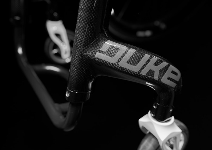 DUKE carbon fibre wheelchair 3