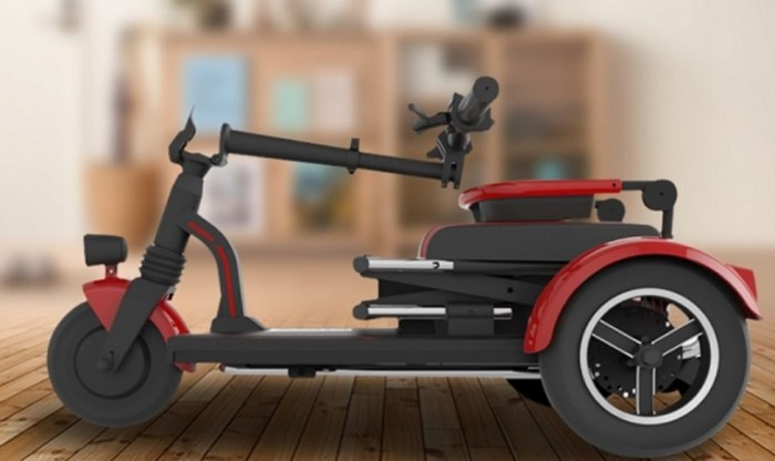 GS150 foldable scooter 3