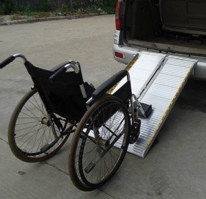 MR607M wheelchair ramp BI-FOLD