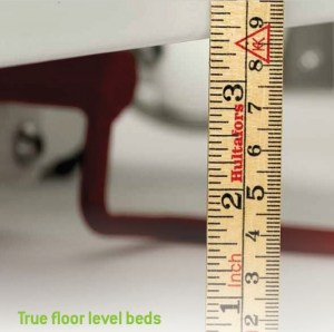 True floor level 10 cm