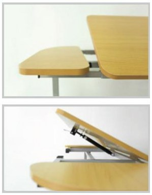 Overbed Amp Over Chair Table Tilting Amp Adjustable Bt534