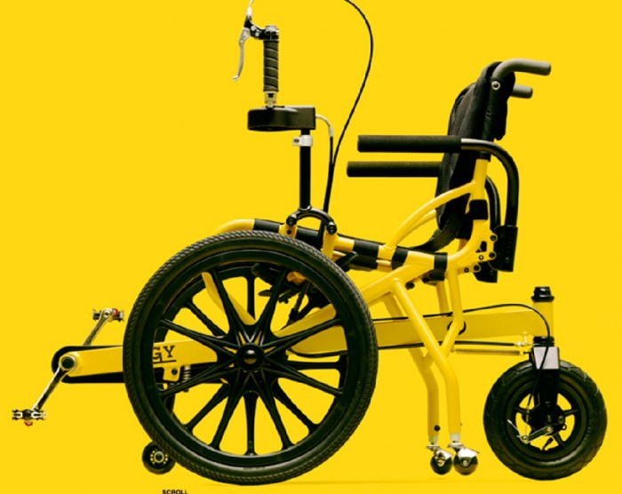 cogy pedal wheelchair