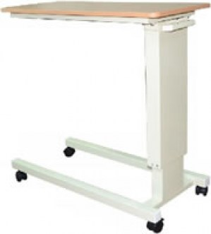 overbed table u base with split