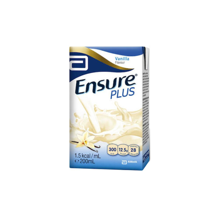 Ensure Plus Vanilla 200ml x 27s/Ctn - S$65.00